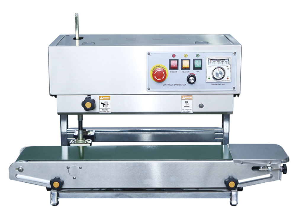 FR-900V-Vertical Continuous Band Sealer Machine Uganda. Vertical Continuous Band Sealing Machine in Kampala Uganda. F and B Solutions Uganda for all your Food and Beverages Industry Machines, Food & Drinks/Liquids Machines Industry Kampala Uganda, East Africa: Kigali-Rwanda, Nairobi-Mombasa-Kenya, Juba-South Sudan, DRC Congo, Ugabox