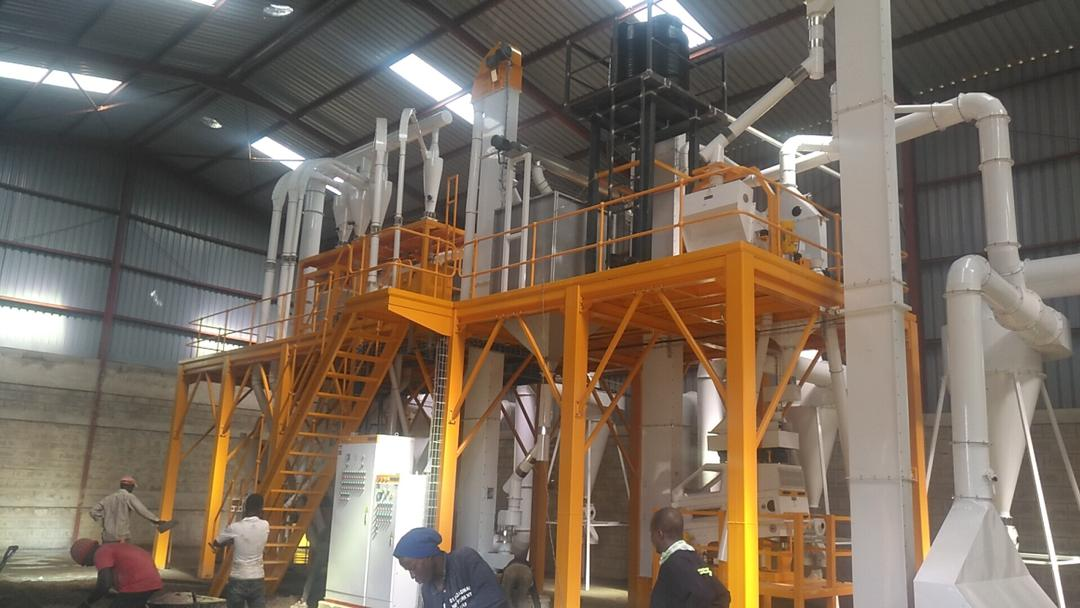50T/Day Maize Milling Plant in Uganda. Client: EWA Miriam General Uganda. Supply, Installation, Testing and Commissioning of Mill/Food Processing Plant/Machinery in Uganda, East Africa. China Huangpai Food Machines Uganda, Ugabox