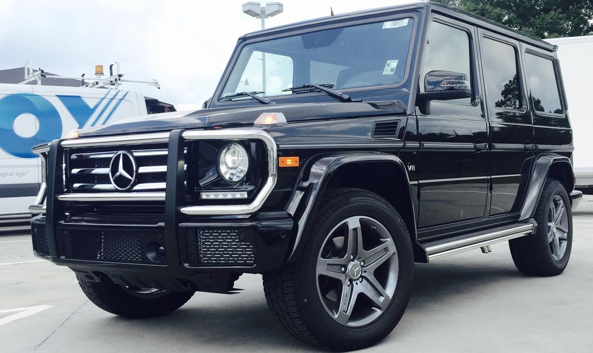 Mercedes Benz G Class Model 2007 in Kampala Uganda for hire and executive travel